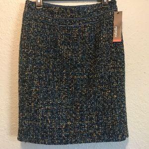 Rafaella Tweed Skirt NWT